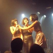Durant l'actuació de The Mamzelles a la Sala Apolo, de Barcelona. / Font: Laura Bernis.