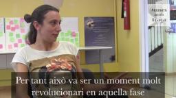 """Adèle Tulli, directora de """"Menopausa rebel"""". / Font: Muses amb Traça"""